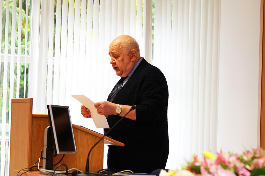 Prof. emer. Predrag Keros (FOTO: ZVU)